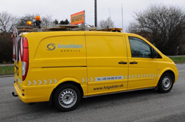 gul-følgebil